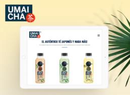 Versión tablet de la web de umaicha
